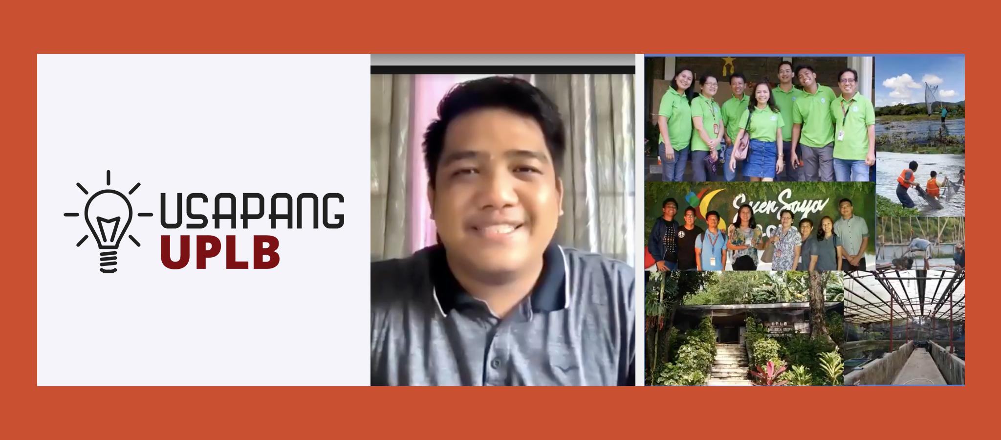 Usapang UPLB tackles DOST scholarships, rejuvenation of fish populations