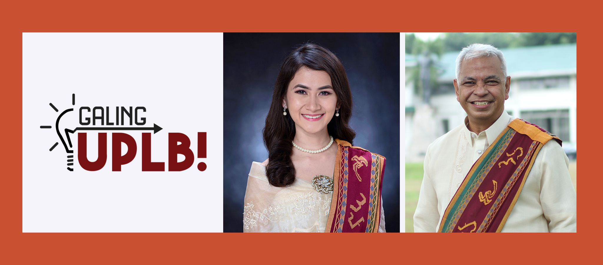 UPLB class '21 valedictorian and UPLB Community Chest featured on Galing UPLB
